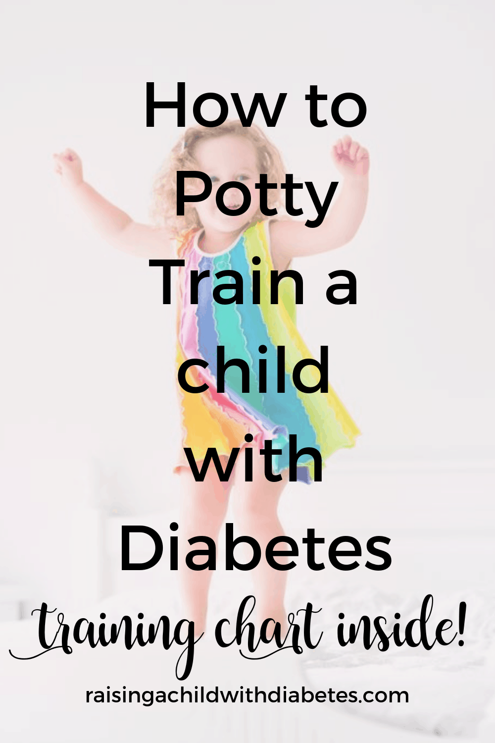 Let's talk potty training! Only the mere thought of this phrase gave me chills! More so, because of my daughter's condition of type 1 diabetes.I am going to tell you, it was NOT an easy task. Until this day, we still struggle with nighttime potty training, but for the moment we are managing the issue with overnight diapers.