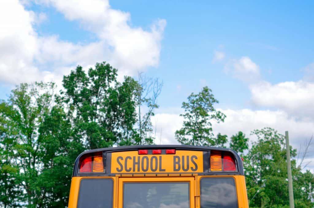 school bus - managing diabetes in school